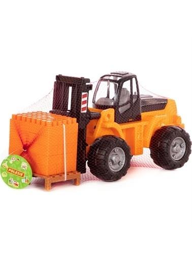 Polesie  Polesie Oyuncak Paletli Forklift 36766- turuncu Renkli